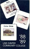 Lake-Sumter Community College General Catalog, 1988-1989